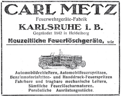 Anzeige für eine Motorspritze gleicher Bauart