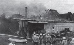 Über eine Million DM Schaden bei Brand in Behmhusen